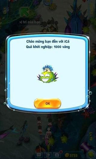 Người chơi được tặng 1000 vàng