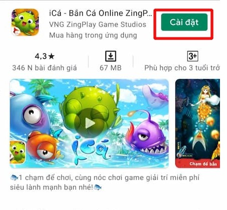 Cài đặt ica trên hệ điều hành Android dễ dàng