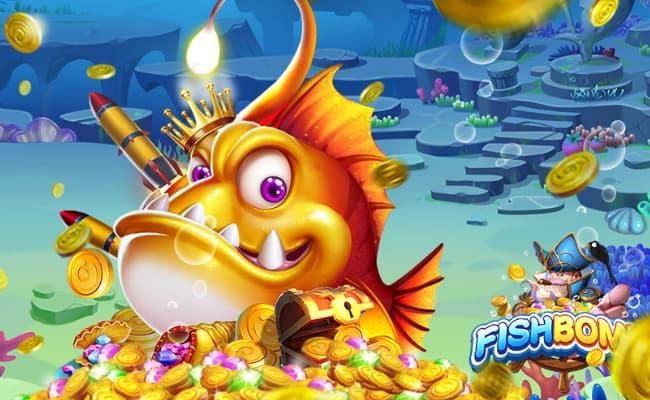 Các tính năng hấp dẫn mang nét đặc trưng riêng của Fish Bomb
