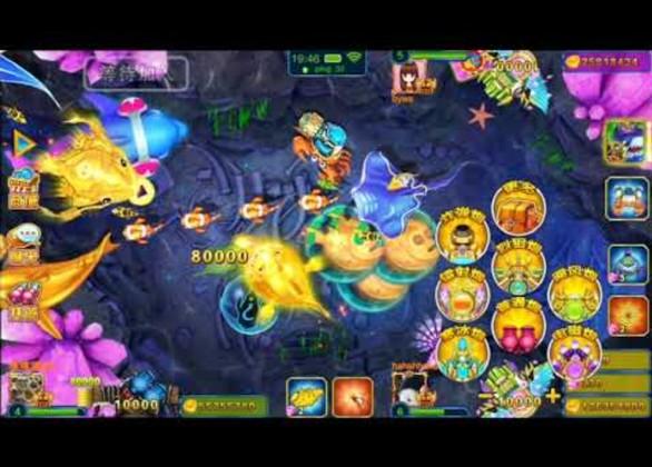 Giao diện hấp dẫn của cổng game Bắn Cá Đại Thần